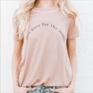 Mate the Label Free People Music Tee